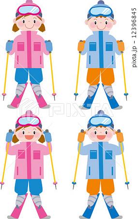 スキー 12396845