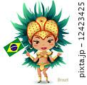 世界ワールド_ブラジル 12423425