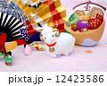 宝船 扇 置物の写真 12423586