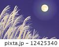 月とススキ 12425340