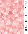桜模様_シャープ 12426277