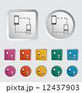 Phone sync single icon. 12437903