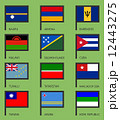 Flags flat set-13 12443275