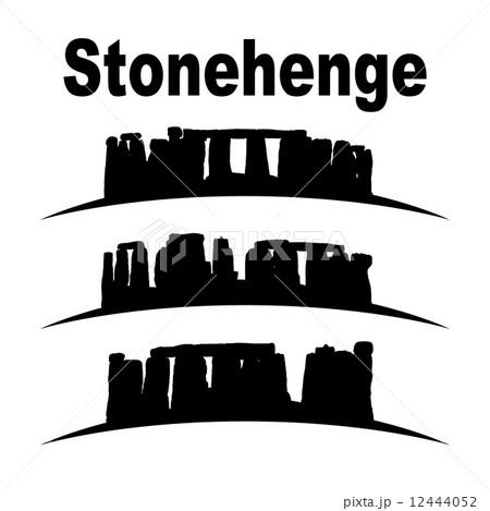 silhouette of stonehenge 12444052
