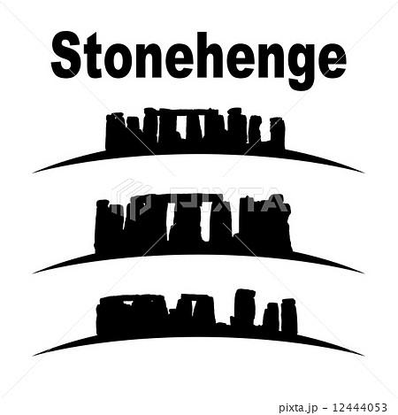 silhouette of stonehenge 12444053