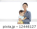 パパ 父 赤ちゃんの写真 12446127