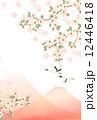 桜と鶴 12446418
