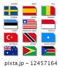 モナコ ソマリア スウェーデンのイラスト 12457164
