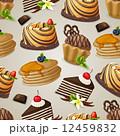 お菓子 スイーツ スィーツのイラスト 12459832