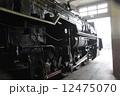 梅小路蒸気機関車館 SL 蒸気機関車の写真 12475070