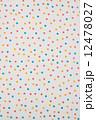 水玉模様の布  12478027