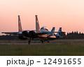 軍用機 F-15 戦闘機の写真 12491655