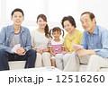 三世代家族 3世代 三世代の写真 12516260