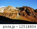 奥穂高岳の秋色風景 12518804