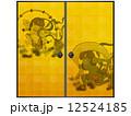 襖 雷神 風神雷神のイラスト 12524185