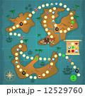 宝 宝物 財宝のイラスト 12529760