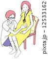 妊娠 人物 家族のイラスト 12533162