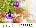 クリスマス ボール 玉の写真 12535321