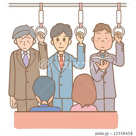 通勤 のイラスト素材 1 ページ ...