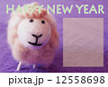 羊パステル 12558698