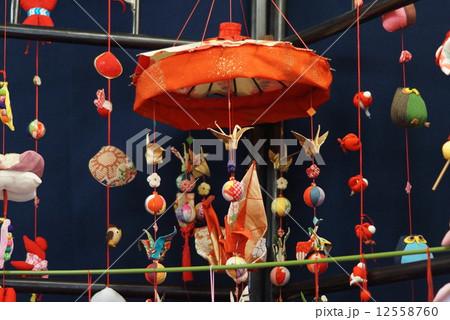 雛人形 吊るし雛 奈良県高取町 12558760