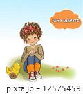 遊び おもちゃ 玩具のイラスト 12575459
