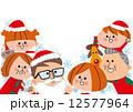 6人家族 ファミリー 家族のイラスト 12577964