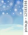 寒中 背景のみ 12583398