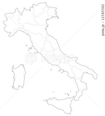 イタリアの地図のイラスト素材 ... : 世界地図白地図無料ダウンロード : 世界地図