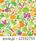 ベクター 野菜 カラフルのイラスト 12592753