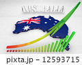 Illustration of Australia 12593715