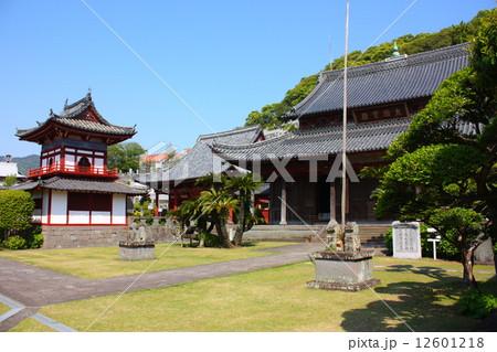 長崎 興福寺の写真素材 [12601218] - PIXTA