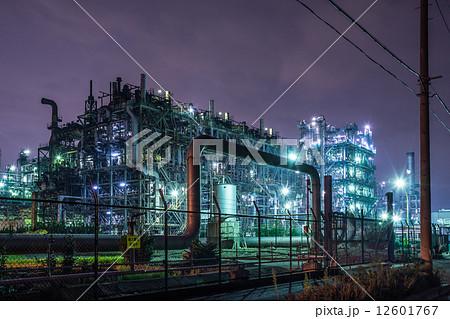 京浜工業地帯 浮島町 工場夜景 12601767