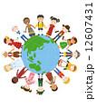 世界の子供_イラスト 12607431