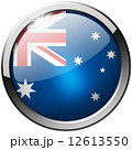 Australia Round Metal Glass Button 12613550