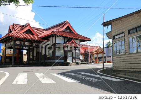 写真素材: 旧草軽電鉄北軽井沢駅