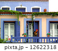Traditional style colored house of Alonissos, Greece 12622318