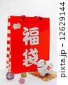 正月飾り 紙袋 袋の写真 12629144