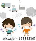 環境汚染 ベクター 人のイラスト 12638505