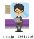 パソコン 通勤電車 通勤 12641116