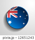 Australia 3d Round Button 12651243