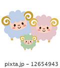 ベクター 羊 未のイラスト 12654943
