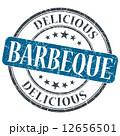 肉 料理 バーベキューのイラスト 12656501