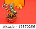 正月イメージ お正月 お正月イメージの写真 12670256