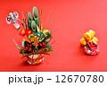 門松 お正月 正月イメージの写真 12670780