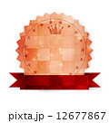メダル ベクター フレームのイラスト 12677867