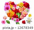 薔薇のハート 12678349
