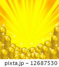 金貨 ポイントコイン コインのイラスト 12687530