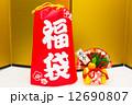 俵飾り 福袋 正月の写真 12690807