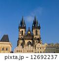 プラハ 塔 時計の写真 12692237